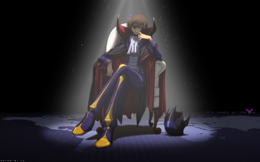 Hunger Games Anime Edition Lelouch sitting on throne.jpg