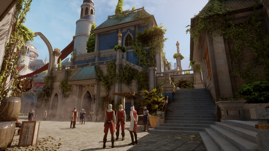 Dragon Age: Inquisition architecture