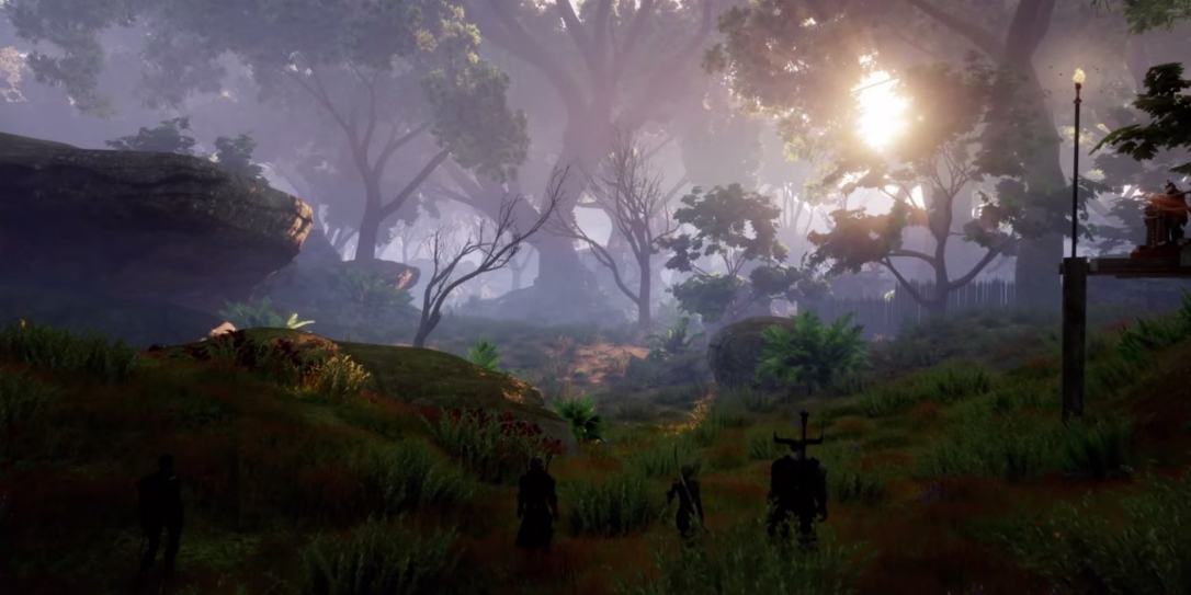 Dragon Age Inquisition environment