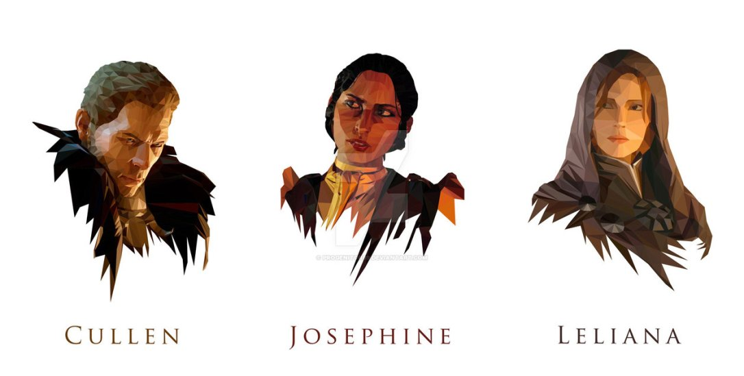 Dragon Age Inquisition Review Characters advisors