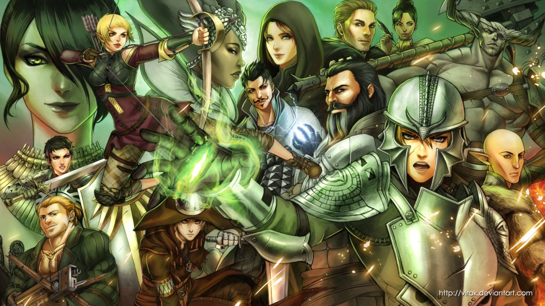 Dragon Age Inquisition Review Characters fanart