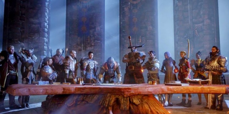 Dragon Age Inquisition Review Characters