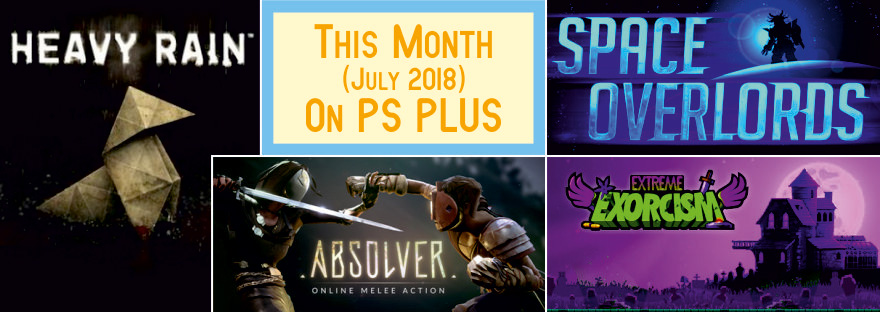 PS Plus July 2018