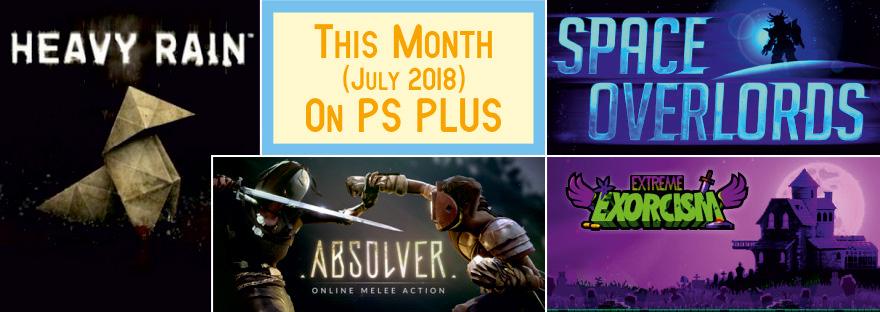 PS Plus July 2018